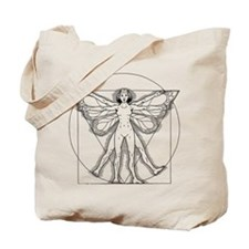 Vitruvian Fairy Tote Bag
