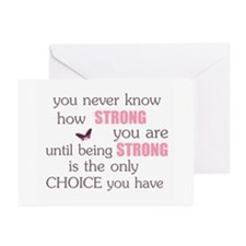 Never Know How Strong Greeting Cards (Pk of 20)