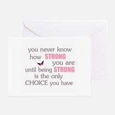 Never Know How Strong Greeting Cards (Pk of 10)