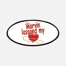 Marvin Lassoed My Heart Patches