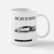 Driving Art Sports Car Mug