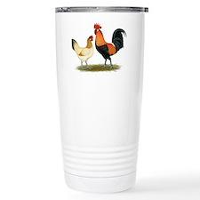 Penedesenca Chickens Ceramic Travel Mug