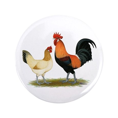 """Penedesenca Chickens 3.5"""" Button (100 pack)"""