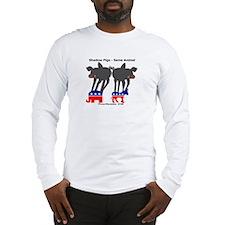 198 PigShadow Long Sleeve T-Shirt
