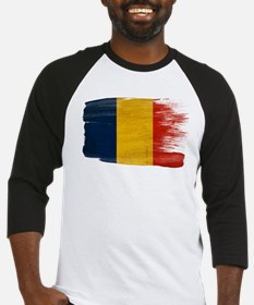 Romania Flag Baseball Jersey