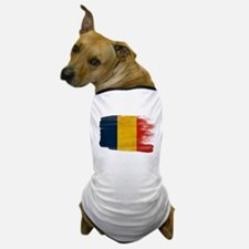 Romania Flag Dog T-Shirt