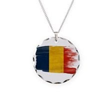 Romania Flag Necklace