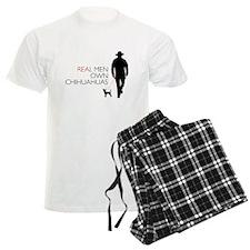Real Men Own Chihuahuas Pajamas
