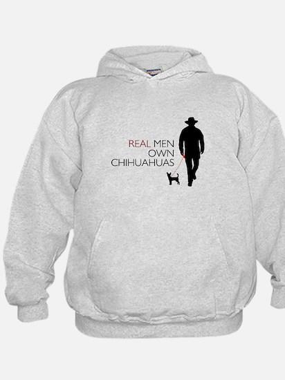 Real Men Own Chihuahuas Hoody