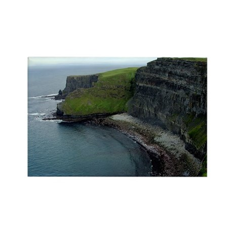 Cliff's of Moher Rectangle Magnet