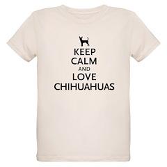 Keep Calm Chihuahuas T-Shirt