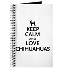 Keep Calm Chihuahuas Journal