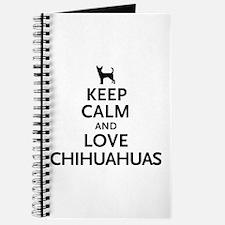 Keep Calm Chihuahuas Journal