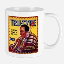 Tru-Type Fruit Crate Art Mug