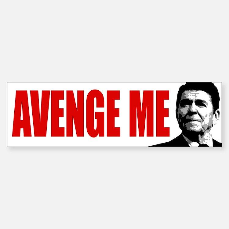 Avenge Ronald Reagan! - Car Car Sticker