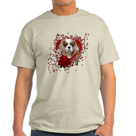 Valentines - Key to My Heart Light T-Shirt