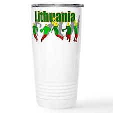 Lithuanian Basketball Travel Mug
