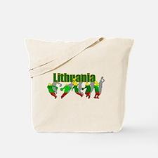 Lithuanian Basketball Tote Bag