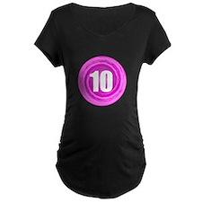Girls 10th Pink B-day T-Shirt