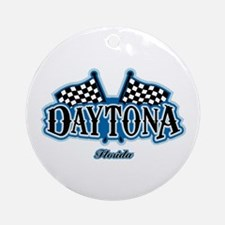 Daytona Flagged Ornament (Round)