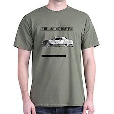 Driving Art Muscle Car T-Shirt
