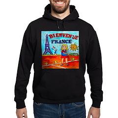 Bienvenue France Hoodie (dark)
