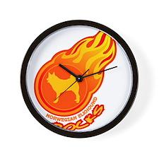 Norwegian Elkhound Wall Clock
