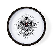Faith Cross Oral Cancer Wall Clock