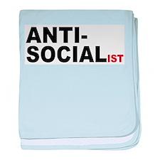 Anti Socialist baby blanket