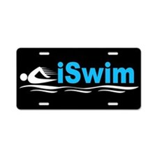 iSwim Aluminum License Plate