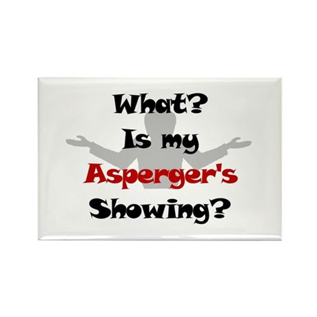 What? Asperger's Rectangle Magnet