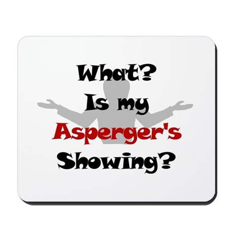 What? Asperger's Mousepad