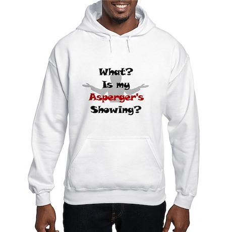 What? Asperger's Hooded Sweatshirt