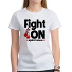 Fight On Oral Cancer Women's T-Shirt