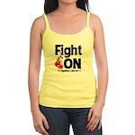 Fight On Oral Cancer Jr. Spaghetti Tank