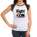 Fight On Oral Cancer Women's Cap Sleeve T-Shirt