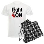 Fight On Oral Cancer Men's Light Pajamas