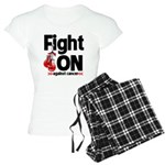 Fight On Oral Cancer Women's Light Pajamas