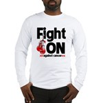Fight On Oral Cancer Long Sleeve T-Shirt