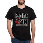 Fight On Oral Cancer Dark T-Shirt