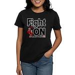 Fight On Oral Cancer Women's Dark T-Shirt