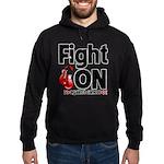 Fight On Oral Cancer Hoodie (dark)