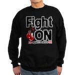 Fight On Oral Cancer Sweatshirt (dark)