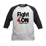 Fight On Oral Cancer Kids Baseball Jersey
