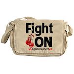 Fight On Oral Cancer Messenger Bag