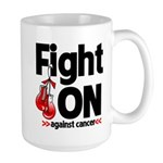 Fight On Oral Cancer Large Mug
