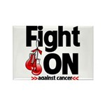 Fight On Oral Cancer Rectangle Magnet
