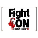 Fight On Oral Cancer Banner