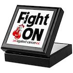 Fight On Oral Cancer Keepsake Box