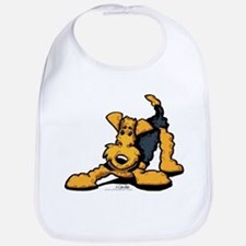 Airedale at Play Bib